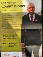 Police and Crime Commissioner Meeting, Thursday 13 February 2020, 7.30pm