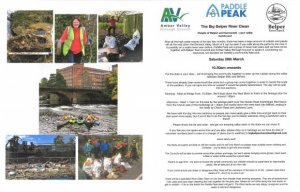 CANCELLED - The Big Belper River Clean 28 March 2020