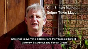 A message from Belper Town Council